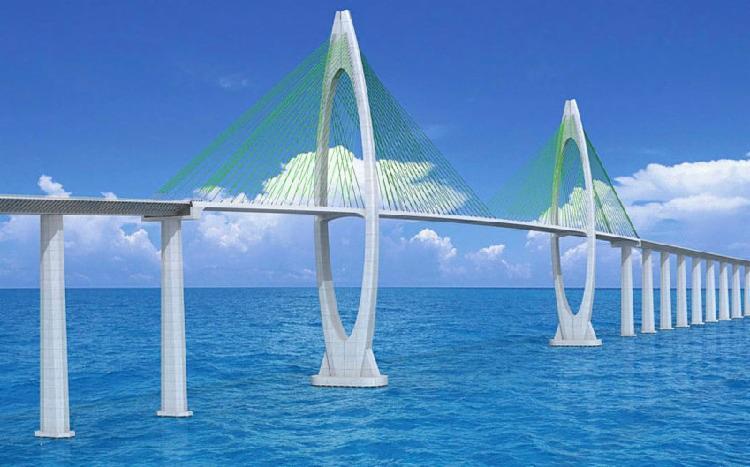 Titular da Seinfra avalia que cronograma do projeto da construção da ponte Salvador/Itaparica segue ritmo normal | Foto: Divulgação - Foto: Foto: Divulgação
