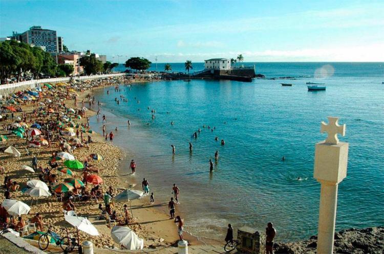 Ao todo o Inema apontou que 21 praias estão impróprias para banho na Bahia   Foto: Divulgação - Foto: Divulgação