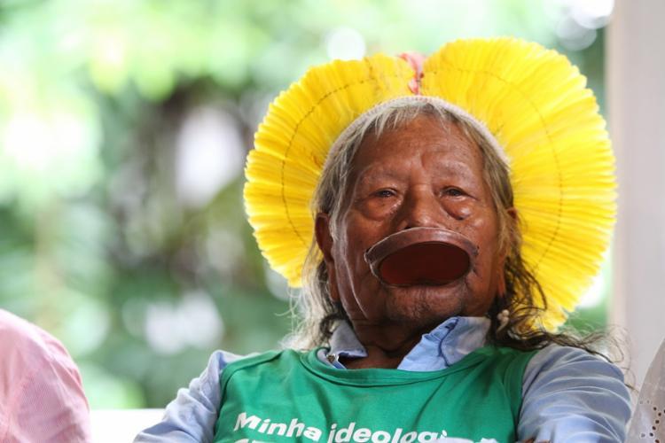 Cacique já foi indicado ao Prêmio Nobel da Paz | Fotos: Carol Garcia | GOV BA - Foto: Carol Garcia | GOVBA