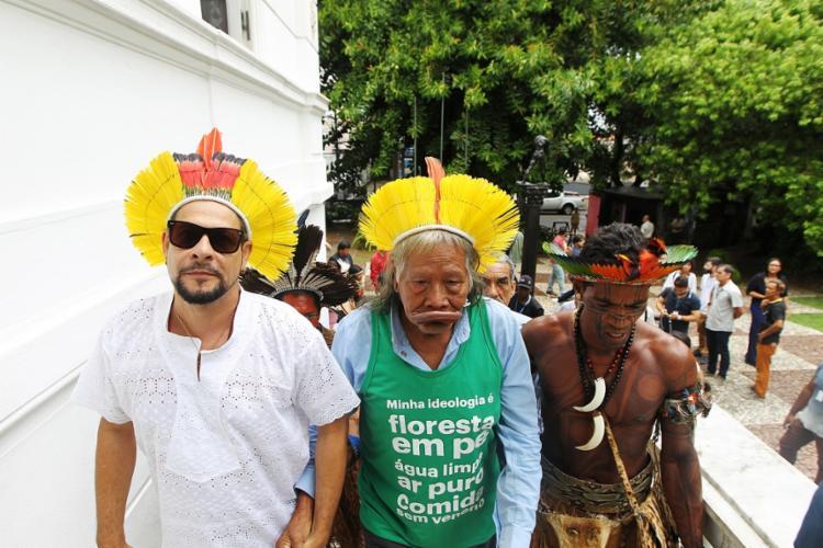 Raoni participará do carnaval ao lado do músico Edu Casanova