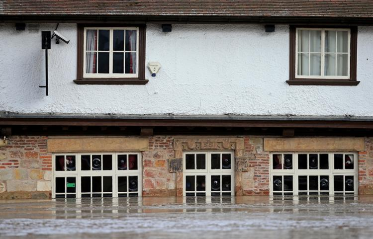 Equivalente a um mês de chuva caiu em 48 horas | Foto: Lindsey Parnaby | AFP - Foto: Lindsey Parnaby | AFP