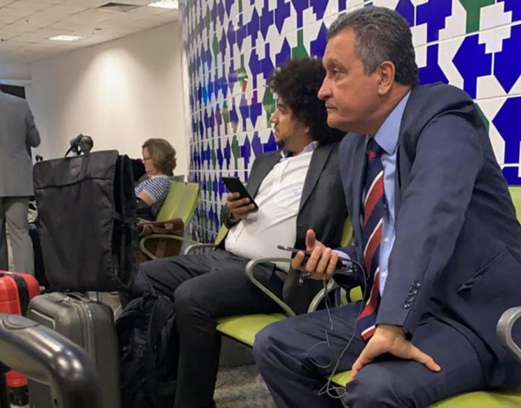 O governador estava em Brasília, onde participou da primeira reunião do Consórcio Nordeste de 2020 | Foto: Maris Almeida | Cidadão Repórter | Via WhatsApp - Foto: Maris Almeida | Cidadão Repórter | Via WhatsApp