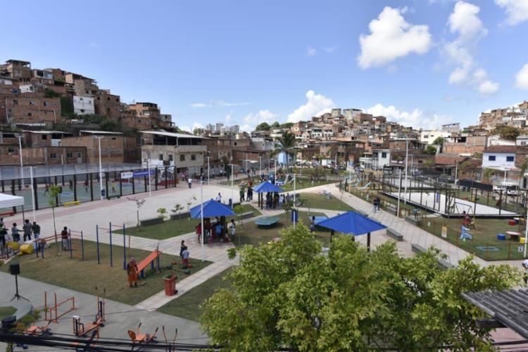 Praça foi inaugurada na manhã deste sábado | Foto: Valter Pontes | Secom - Foto: Valter Pontes | Secom