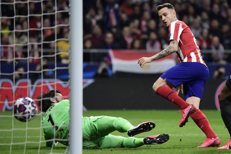 Saúl Ñíguez marcou o único gol da partida | Foto: Javier Soriano | AFP - Foto: Javier Soriano | AFP