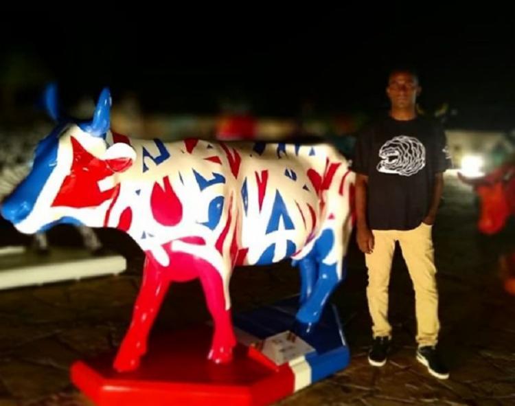 Scank é autor de obra instalada na Cidade Tricolor | Foto: Reprodução | Instagram - Foto: Reprodução | Instagram