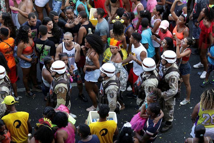 Carnaval 2020 ficou marcado por ataques do cantor deputado à PM | Foto: Adilton Venegeroles | Ag. A Tarde - Foto: Adilton Venegeroles | Ag. A Tarde