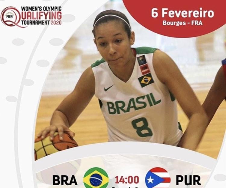 Brasil e Porto Rico duelam por vaga nos jogos de Tóquio 2020 - Foto: Reprodução