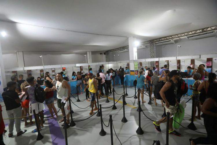 Shopping da Bahia abriga mais de 85% da venda e entrega dos principais blocos e camarotes | Foto: Felipe Iruatã | Ag A TARDE - Foto: Felipe Iruatã | Ag A TARDE