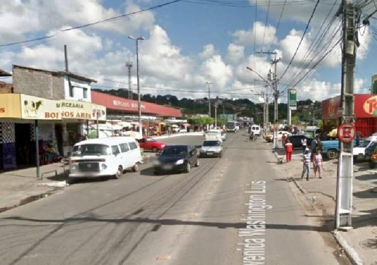 Atropelamento deixa dois feridos na Avenida Washington Luís | Foto: Google Street View - Foto: Google Street View