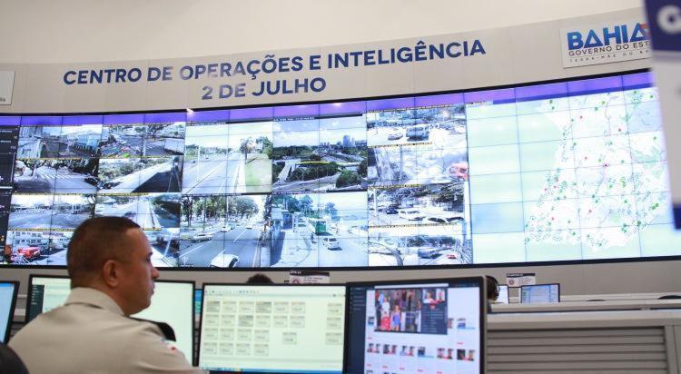 Homem foi encaminhado para a Central de Flagrantes, na Avenida ACM | Foto: Divulgação | SSA-BA - Foto: Divulgação | SSP-BA