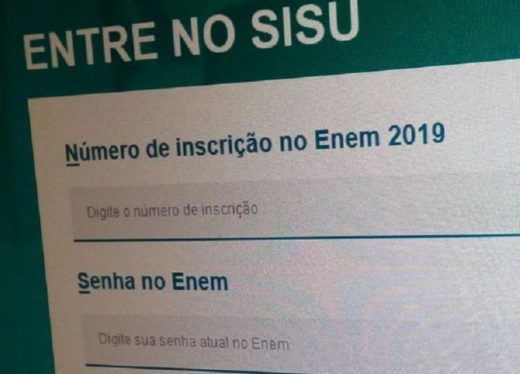 A ordem de chamada para matrícula será publicada pelo Ministério da Educação. - Foto: Repórter Pedro Ivo de Oliveira | Agência Brasil