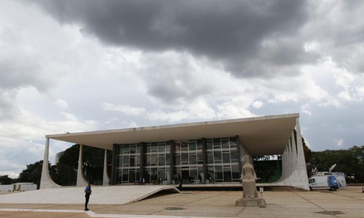 Declarações foram feitas na chegada dos ministros para sessão da tarde na Corte   Foto: Fábio Rodrigues Pozzebom   Agência Brasil - Foto: Fábio Rodrigues Pozzebom   Agência Brasil