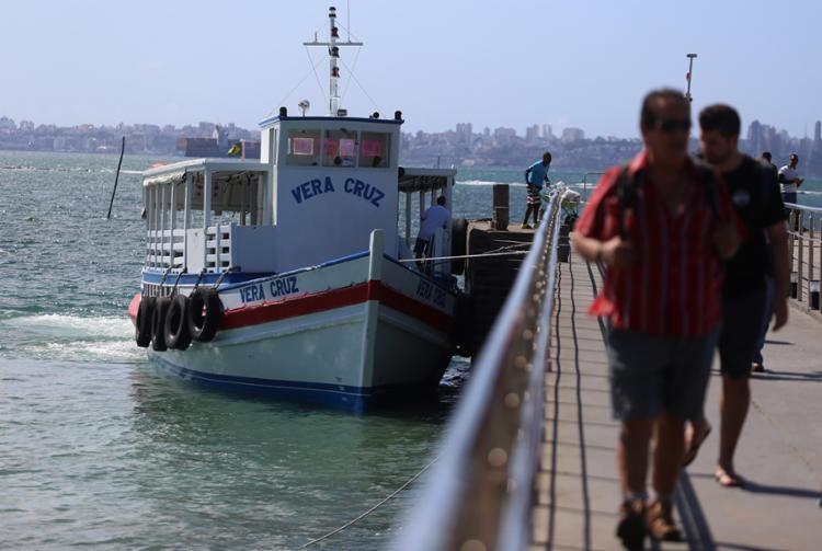 Expectativa é que o embarque de passageiros seja intenso | Foto: Joá Souza | Ag. A TARDE - Foto: Joá Souza | Ag. A TARDE
