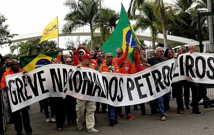 Petrobras já notificou as entidades sindicais e aguarda o retorno dos grevistas ao trabalho   Foto: Divulgação   Federação Única dos Petroleiros (FUP) - Foto: Divulgação   Federação Única dos Petroleiros (FUP)