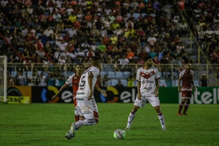 Leão não jogou bem, mas usou o regulamento para se classificar | Foto: Vagner Grigorio | Coluna do Futebol - Foto: Vagner Grigorio | Coluna do Futebol