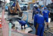 Manutenção interrompe fornecimento de água no Subúrbio | Foto: Foto: Divulgação | Embasa | Ilustrativa
