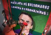 Bolsonaro encara o corona pela contramão e ganha os panelaços | Foto: Carl de Souza | AFP