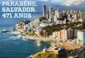 Bahia e Vitória fazem homenagem a Salvador pelos 471 anos | Foto: Divulgação | EC Vitória
