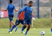 Com contrato até o fim do ano, Bahia prioriza renovação com atacante Élber | Foto: Felipe Oliveira | EC Bahia