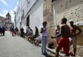 Iniciativa leva kits de higiene para população em situação de rua | Foto: Laryssa Machado | Ag. A TARDE