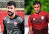 Martin Rodriguez e Maurício Ramos apresentam melhoras em lesões | Foto: Letícia Martins | EC Vitória