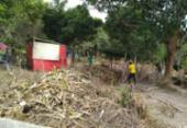 Famílias tentam evitar despejo de ocupação em Lauro de Freitas; Conder reivindica terreno | Foto: Reprodução