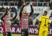 São Paulo perde de virada na estreia da Libertadores | Foto: Ernesto Benavides | AFP