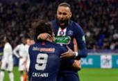 Com show de Neymar e Mbappé, PSG goleia Lyon e vai à final da Copa da França | Foto: Philippe Desmazes | AFP