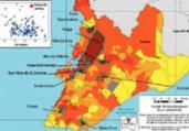 Veja quais bairros possuem maior risco de Covid-19 | Reprodução