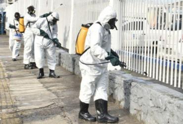 Operação especial de higienização tem início nas ruas de Salvador | Max Haack | Secom