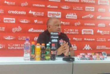 """""""Vamos levantar a cabeça e pensar no próximo resultado"""", diz Agnaldo Liz após derrota no Ba-Vi   Alex Torres   Ag. A TARDE"""