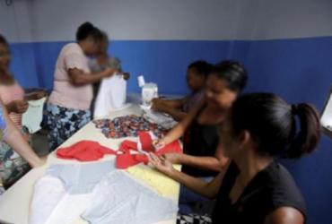 Coronavírus: indústria do setor de vestuário em Salvador está operando com costureiras acima de 50 anos | Adilton Venegeroles | Ag. A TARDE