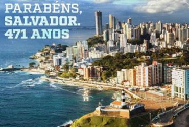 Bahia e Vitória fazem homenagem a Salvador pelos 471 anos | Divulgação | EC Vitória