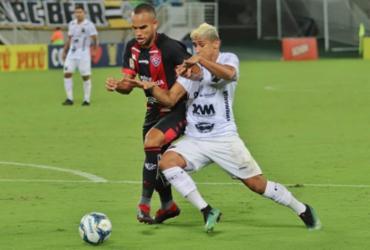 Com tempos distintos, Vitória volta com empate para Salvador | Luciano Marcos | ABC F.C