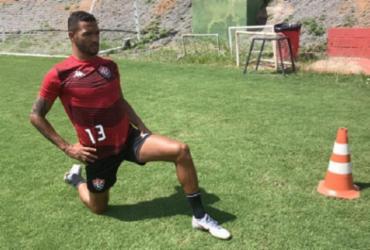 Recuperado de lesão, Felipe Garcia treina com aspirantes do Vitória | Letícia Martins | EC Vitória