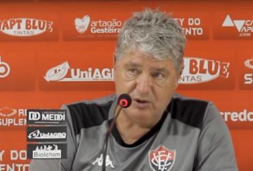 Geninho confirma Jean e Rodrigo Andrade contra o Lagarto | Reprodução | TV Vitória
