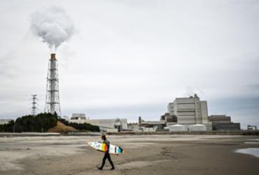 Em Fukushima, a chama olímpica não atrai o entusiasmo de todos | Charly Triballeau | AFP