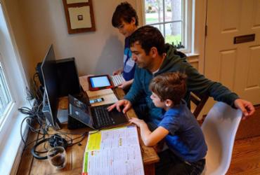 Home office eleva busca por tecnologia | Eric Baradat | AFP