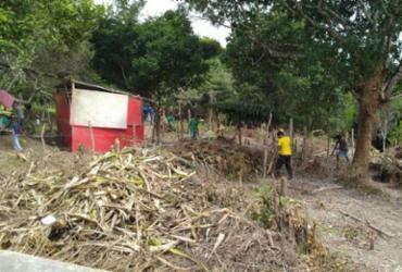 Famílias tentam evitar despejo de ocupação em Lauro de Freitas; Conder reivindica terreno | Reprodução