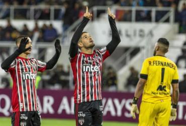 São Paulo perde de virada na estreia da Libertadores | Ernesto Benavides | AFP