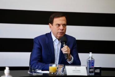 Dória recebe ameaça de morte após atrito com Bolsonaro | Foto: Governo do Estado de São Paulo