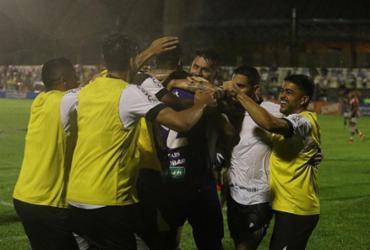 Ceará goleira River por 4 a 0 na Copa do Nordeste  