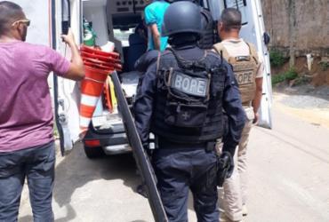Paciente com distúrbios mentais ameaça médico e enfermeiros com faca em Salvador | Divulgação | SSP