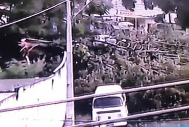 Chuva provoca interdições no trânsito de Salvador | Reprodução | Jornal da Record