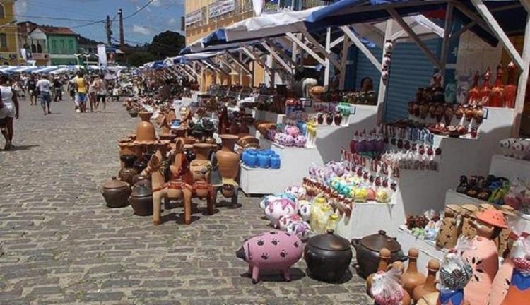A Feira de Caxixis 2020 ocorreria entre os dias 09 e 12 de abril | Foto: Léo Souza | Ag. A TARDE - Foto: Léo Souza | Ag. A TARDE
