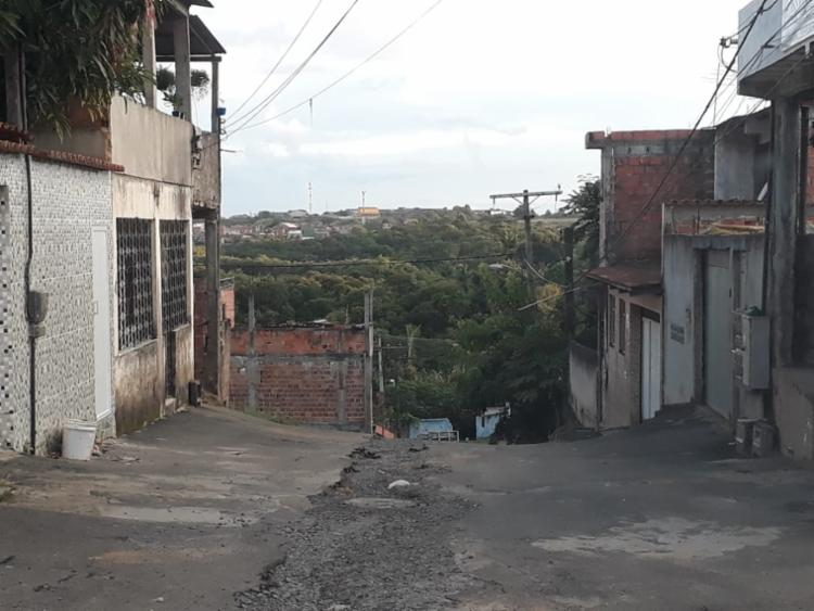 Moradores da Rua Cândido Sales contaram com solidariedade de vizinhos | Foto: Cidadão Repórter - Foto: Cidadão Repórter