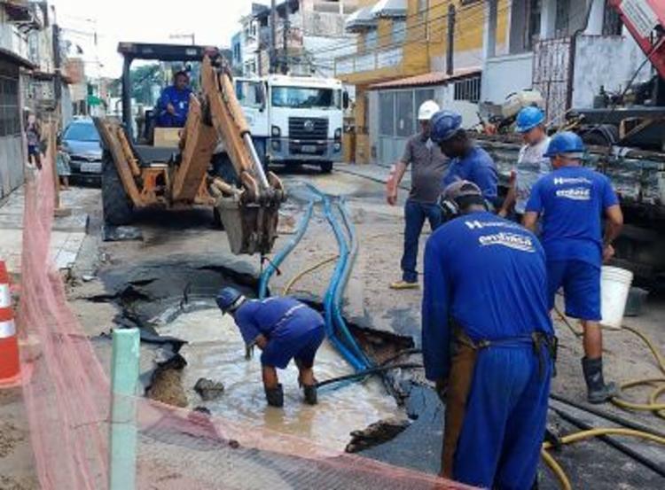 Operação afeta seis bairros de Salvador | Foto: Divulgação | Embasa | Ilustrativa - Foto: Foto: Divulgação | Embasa | Ilustrativa