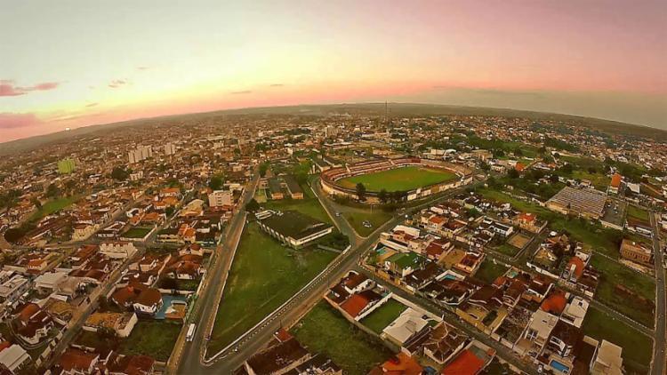 Vista panorâmica da cidade de Alagoinhas   Foto: Reprodução   YouTube - Foto: Reprodução   YouTube