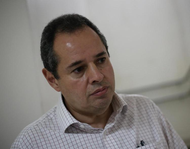 O líder do parlamento baiano, Nelson Leal (PP), participou do encontro | Foto: Raphael Müller | Ag. A TARDE - Foto: Raphael Müller | Ag. A TARDE