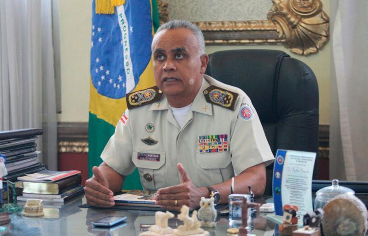 Comandante falou nesta segunda-feira, 24, ao programa 'Isso é Bahia', da rádio A TARDE FM | Foto: Luciano da Matta | Ag. A TARDE - Foto: Luciano da Matta | Ag. A TARDE
